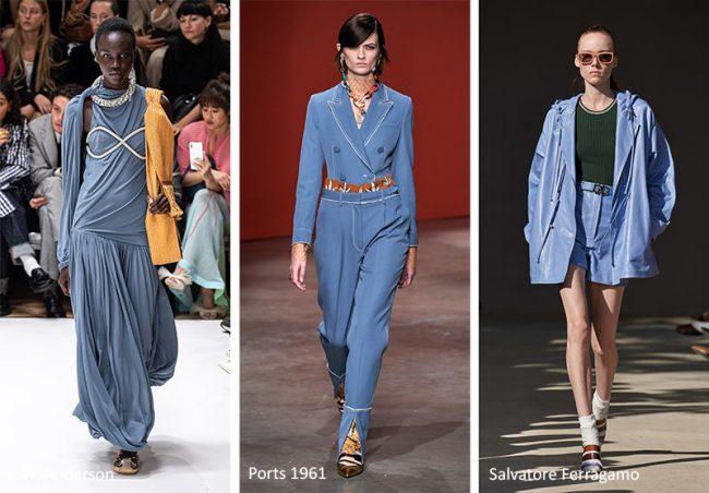 Colore Moda Estate 2020 Blu Faded Denim
