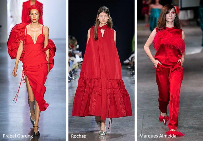 Colore Moda Estate 2020 Flame Scarlet