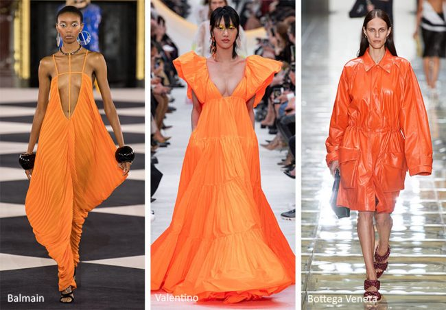 Colore Moda Estate 2020 Orange Peel