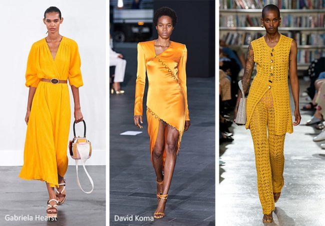 Colori Moda Estate 2020 Giallo Saffron
