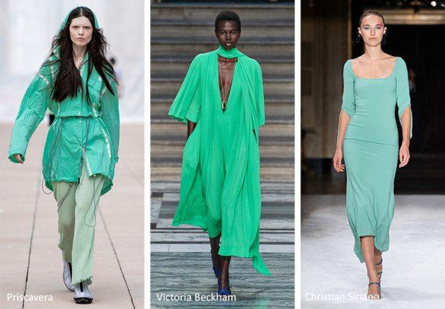 Colori Moda Estate 2020 Verde acqua Biscary Green