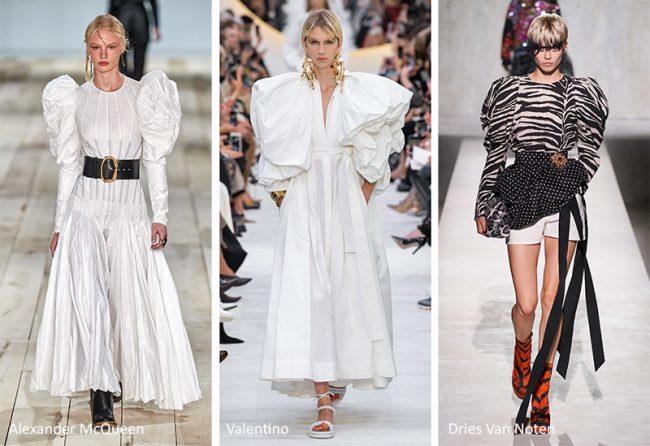Maniche a sbuffo moda 2020