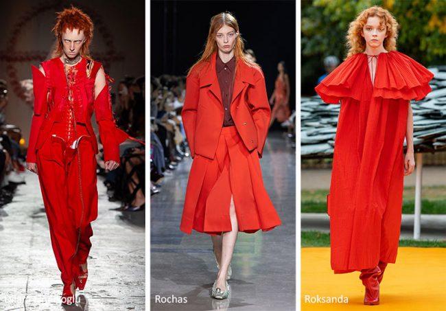 Rosso Colori Moda Estate 2020