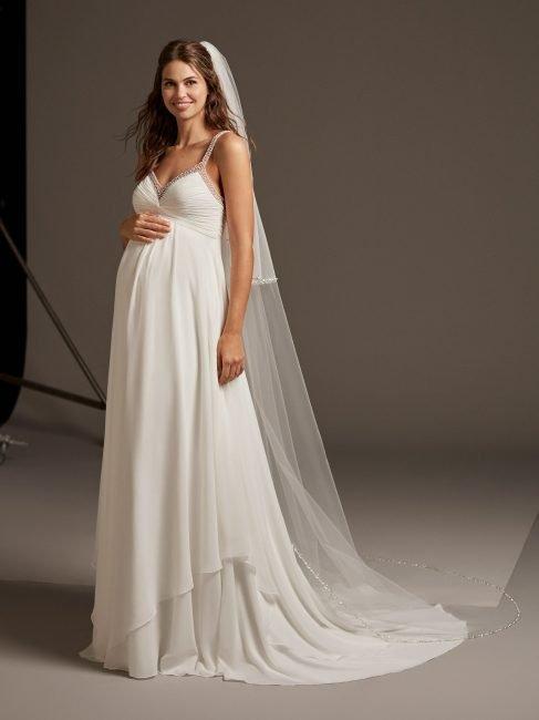 Vestito da sposa premaman Pronovias Lucky Star 02