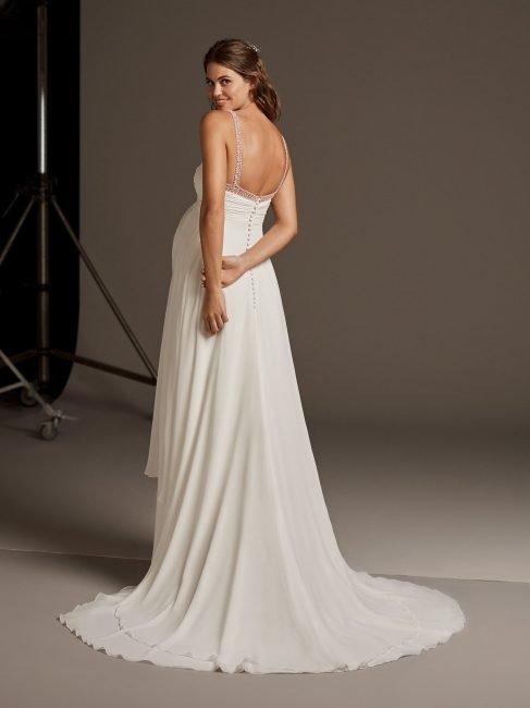 Vestito da sposa premaman Pronovias Lucky Star 02 immagine posteriore