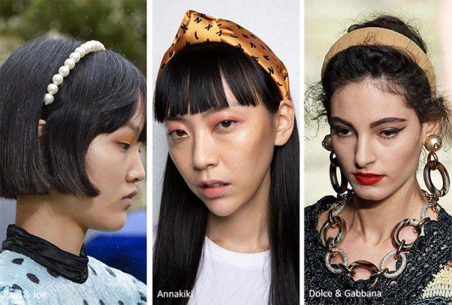 Cerchietti e fasce per capelli moda estate 2020