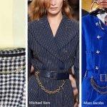 Cinture con catena moda primavera estate 2020