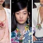 Collane a catena moda accessori primavera estate 2020