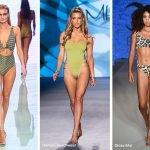 Costumi interi con dettagli cut out moda 2020