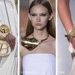 Gioielli strutturati moda primavera estate 2020