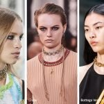 Girocollo a catena moda primavera estate 2020