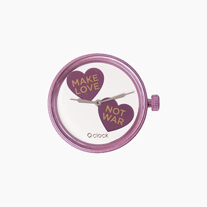 Meccanismo orologio O Clock Make Love per san Valentino 2020