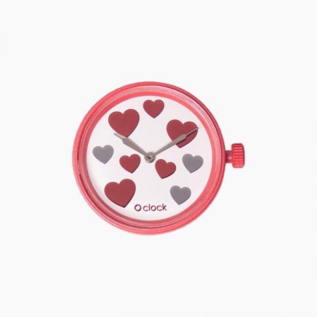 Meccanismo orologio O Clock Nine Hearts san Valentino 2020