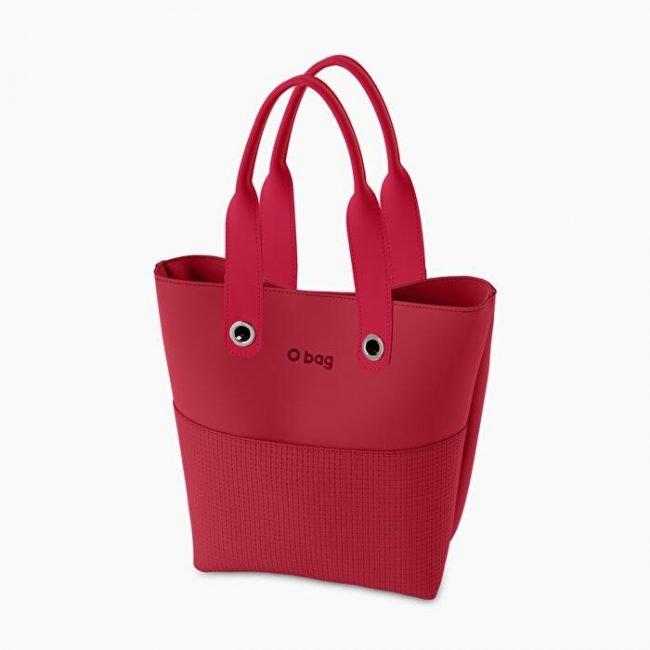 Nuova Borsa O bag Geneva amaranto collezione O bag Soft primavera estate 2020