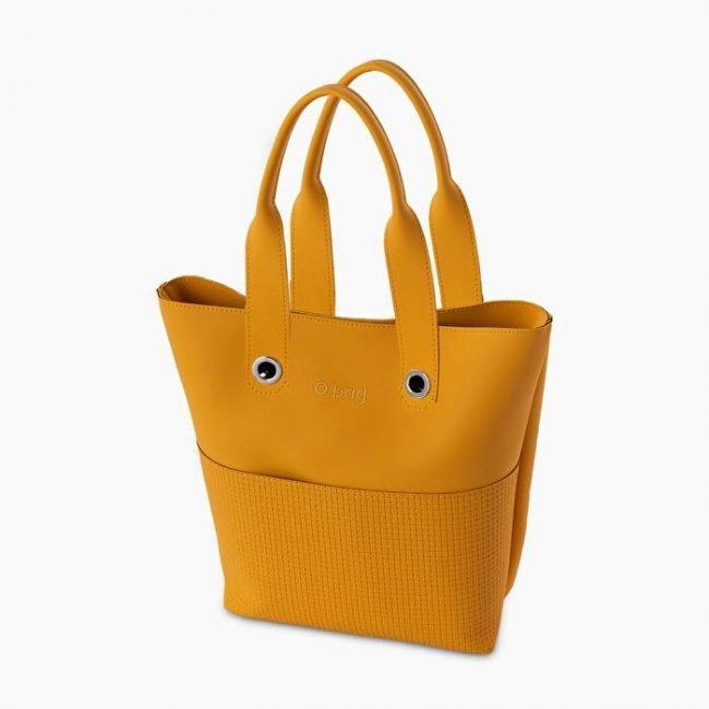 Nuova Borsa O bag Geneva ocra collezione O bag Soft primavera estate 2020