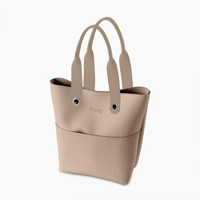 Nuova Borsa O bag Geneva sabbia collezione O bag Soft primavera estate 2020