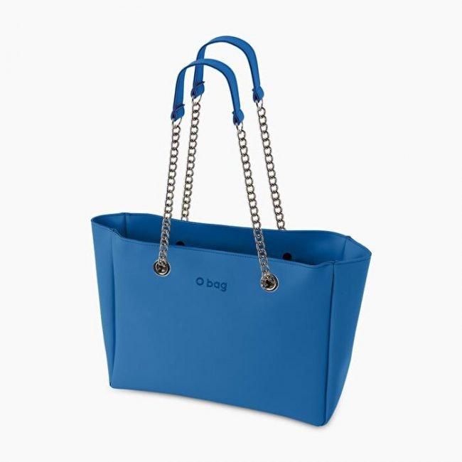 Nuova Borsa O bag Soft O Bag Melville celeste primavera estate 2020