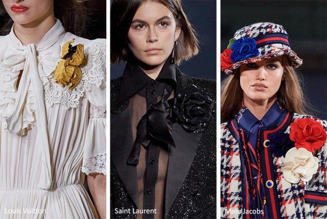 Spille floreali moda estate 2020