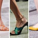 Tendenza Moda accessori primavera estate 2020 Cavigliera