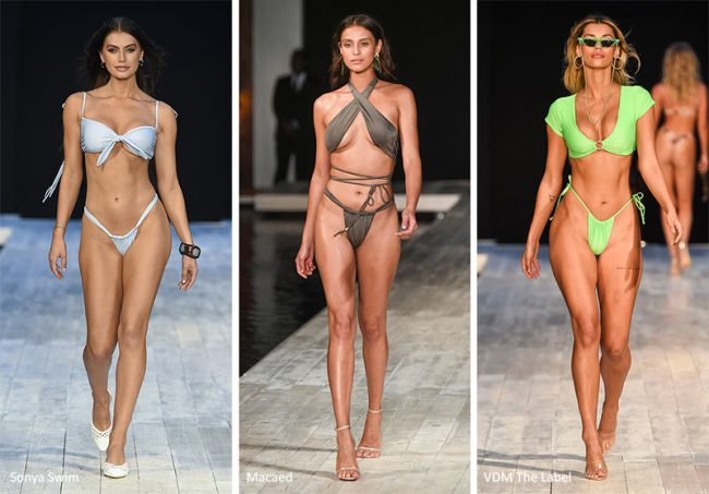 Tendenze Moda costumi da bagno estate 2020 con sexy slip