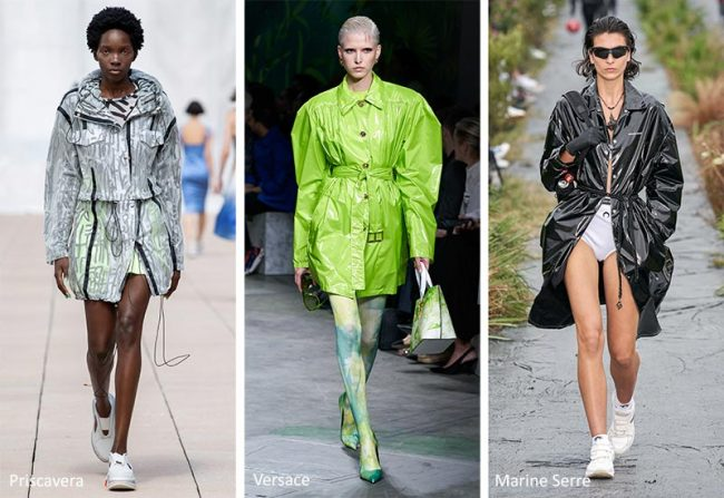 Tendenze Moda primavera estate 2020 Impermeabile