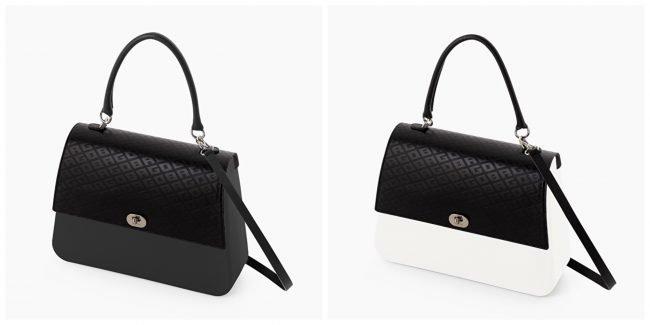 Borsa O bag Queen con nuova pattina con logo O BAG