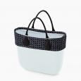 Borsa O bag mini con nuovo bordo collezione spring summer 2020 prezzo 132 euro