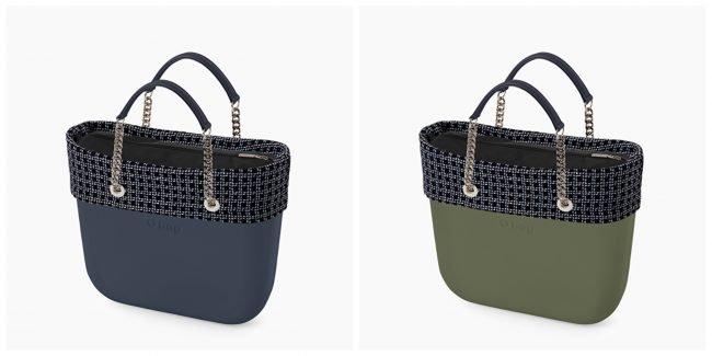 Borse O bag Mini con nuovo bordo foursquare primavera estate 2020