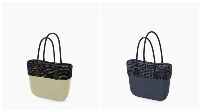 Borse O bag con nuovi bordi e sacche collezione primavera estate 2020