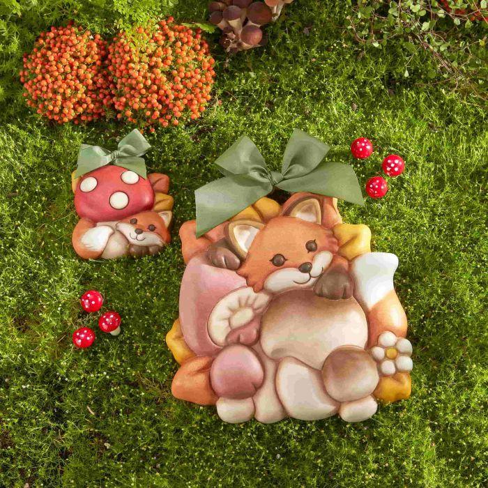 Formelle THUN Bosco incantato con Volpe e Funghi