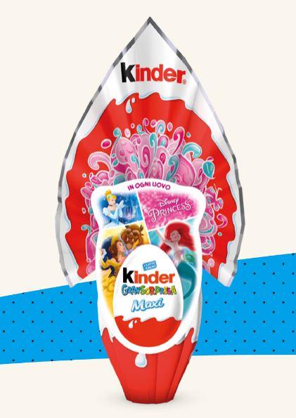 Kinder Uova di Pasqua 2020 Maxi Disney Princess per LEI