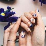 Nail Art astratta moda 2020