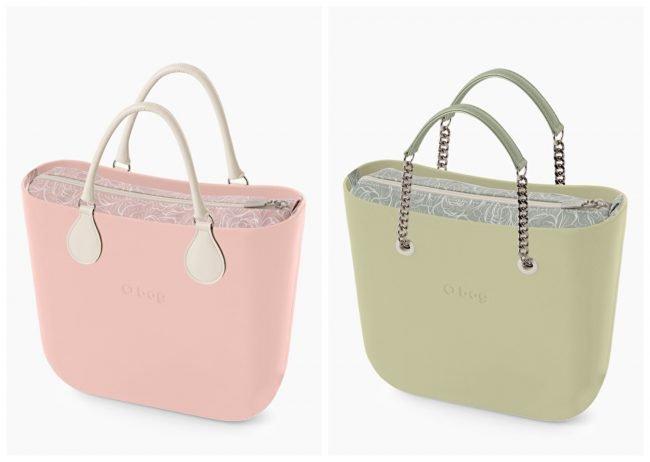 Nuove Borse o bag Mini con sacca interna peonie collezione primavera estate 2020