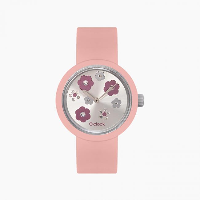 Nuovo orologio O Clock di O Bag con meccanismo crystals cassis