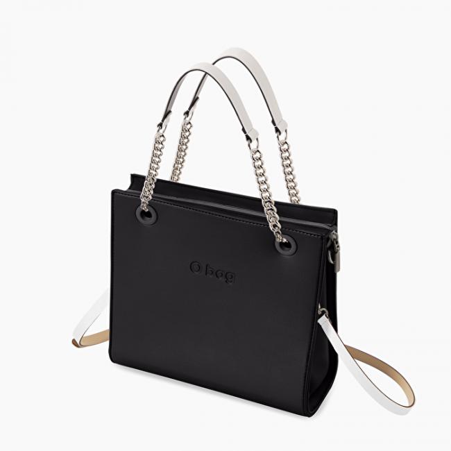 O Bag Double nera e bianca primavera estate 2020
