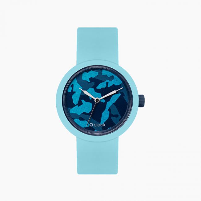 Orologio O Clock con nuovo meccanismo camouflage collezione primavera estate 2020