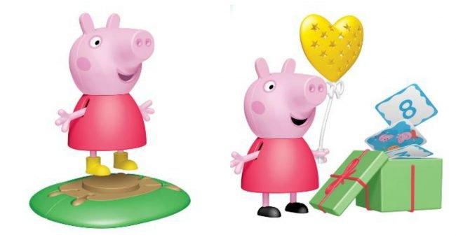 Sorprese Peppa Pig Uova di Pasqua Kinder 2020