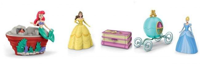 Sorprese porta gioie Disney Princess Uova di pasqua Kinder Maxi 2020