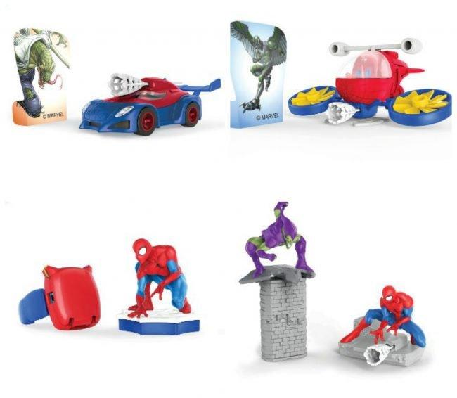 Uova di Pasqua Kinder 2020 Sorprese Spider man