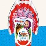 Uova di Pasqua Kinder Maxi Masha e Orso 2020