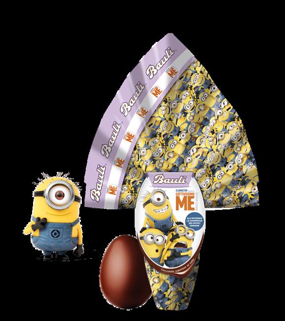Uovo di Pasqua Bauli 2020 per bambini Cattivissimo Me Minions