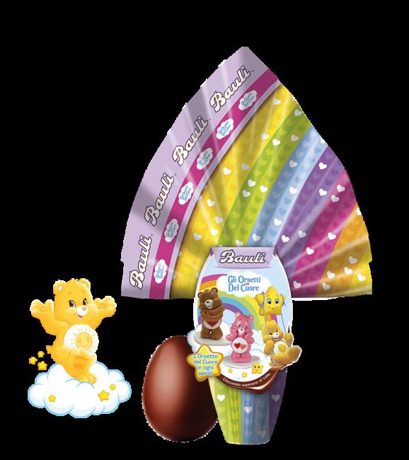 Uovo di Pasqua Bauli 2020 per bambini Orsetti del Cuore