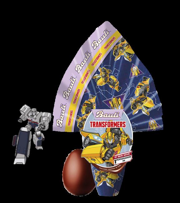 Uovo di Pasqua Bauli 2020 per bambini Transformers