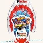 Uovo di Pasqua Kinder 2020 Gransorpresa LUI Hot Wheels