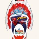 Uovo di Pasqua Kinder 2020 Gransorpresa LUI Spider Man
