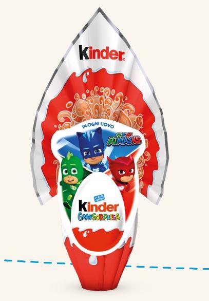 Uovo di Pasqua Kinder 2020 Gransorpresa PJ Mask