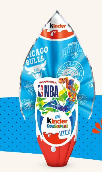 Uovo di Pasqua Kinder Gransorpresa Teens NBA 2020