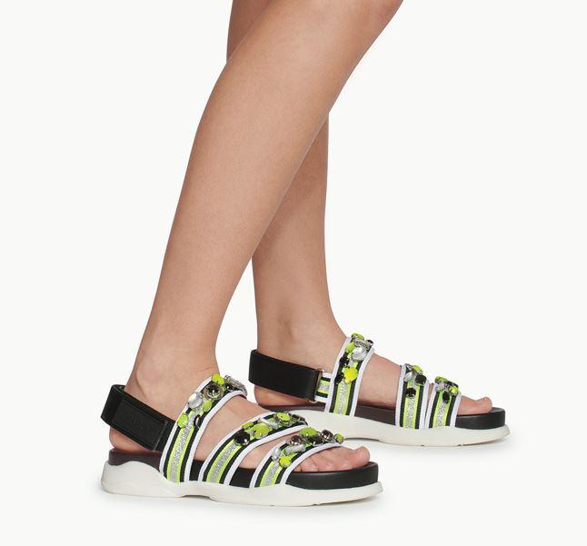Sandali alla moda platform Liu Jo estate 2020