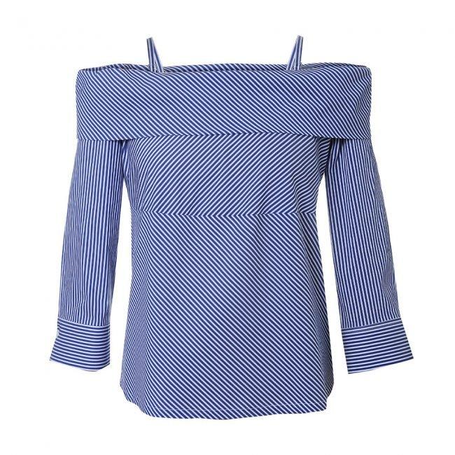 Blusa con scollatura off shoulder NaraCamicie 2020