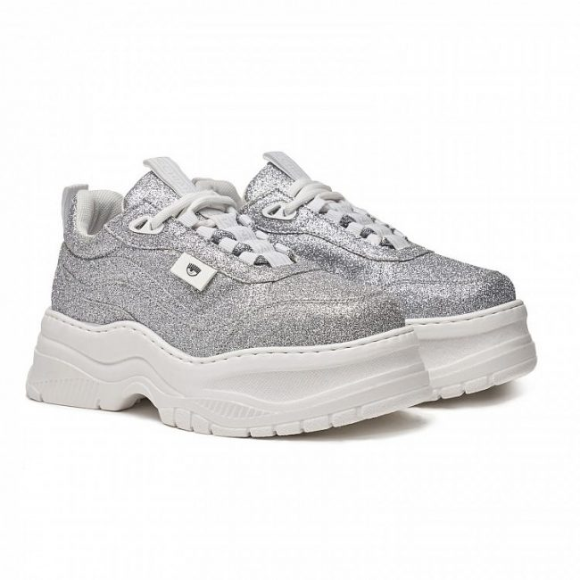 Chunky sneakers glitterate Chiara Ferragni collection 2020